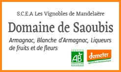 Domaine Saoubis - Armagnac biodynamique
